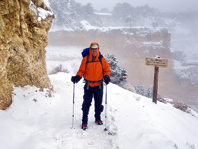 Grand Canyon - serious gear for serious weather